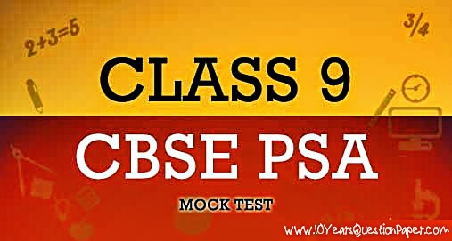 Cbse evergreen 100% success sample question papers in psa (problem.