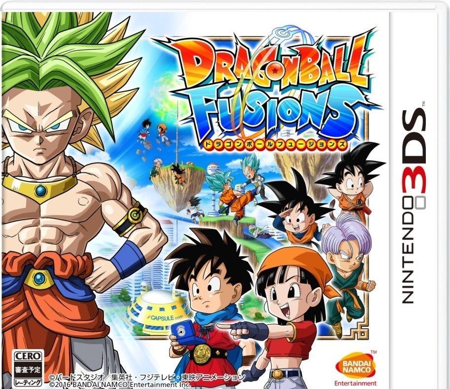 Dragon ball Fusions   Cias para 3DS