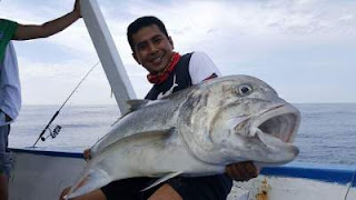 Mancing di Sea Mount Reef Lampung