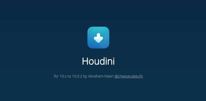 Houdini – an alternative to Cydia released for iOS 10 - 10.3.2