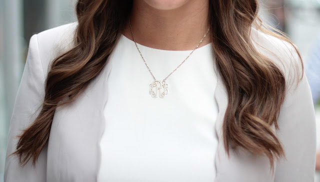 cheap monogram necklace, monogram necklace, gold monogram necklace