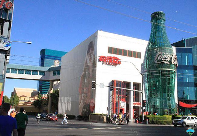 Cocal cola building ,USA