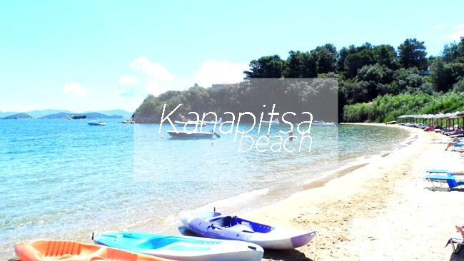 Kanapitsa beach Skiathos island