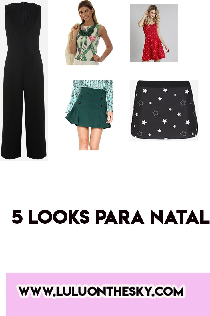 5 looks para o natal