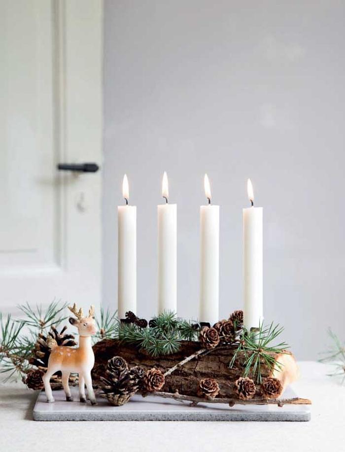 Blogger influencer inspiracion decoracion bonita de estilo nordico en Navidad
