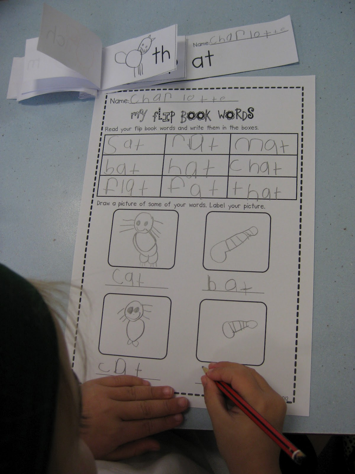 Classroom Fun Cvc Words Flip Books And Writing Activities