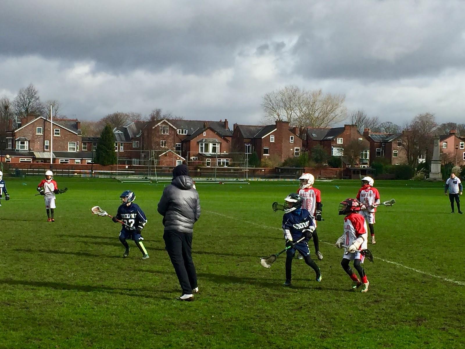 Stockport Lacrosse Club Juniors: U12s Stockport vs Mellor