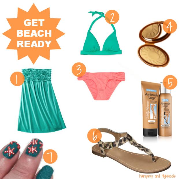 Get Beach Ready Sally Hansen #IHeartMyNailArt