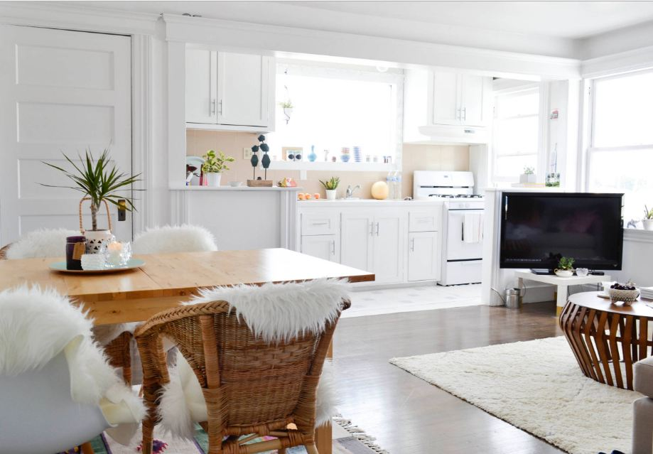 Small Kitchen and Living Room Combination Ideas - Bahay OFW