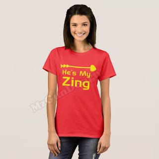 My Zing Couple T-Shirt Design