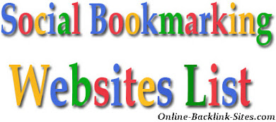Top Do Follow Social Bookmarking Sites Without Registration