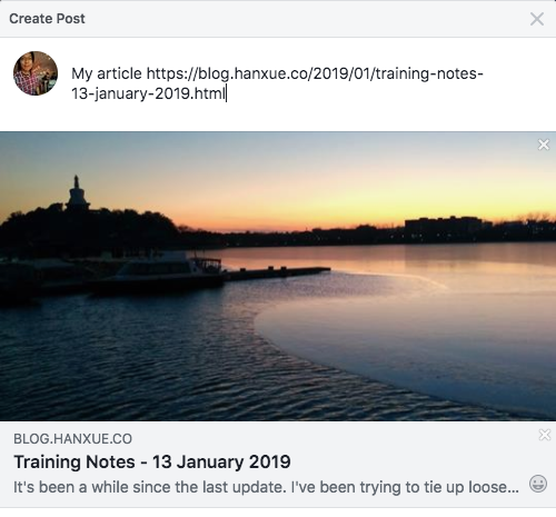 Show an Image Preview When Sharing a Blogger Post to Facebook
