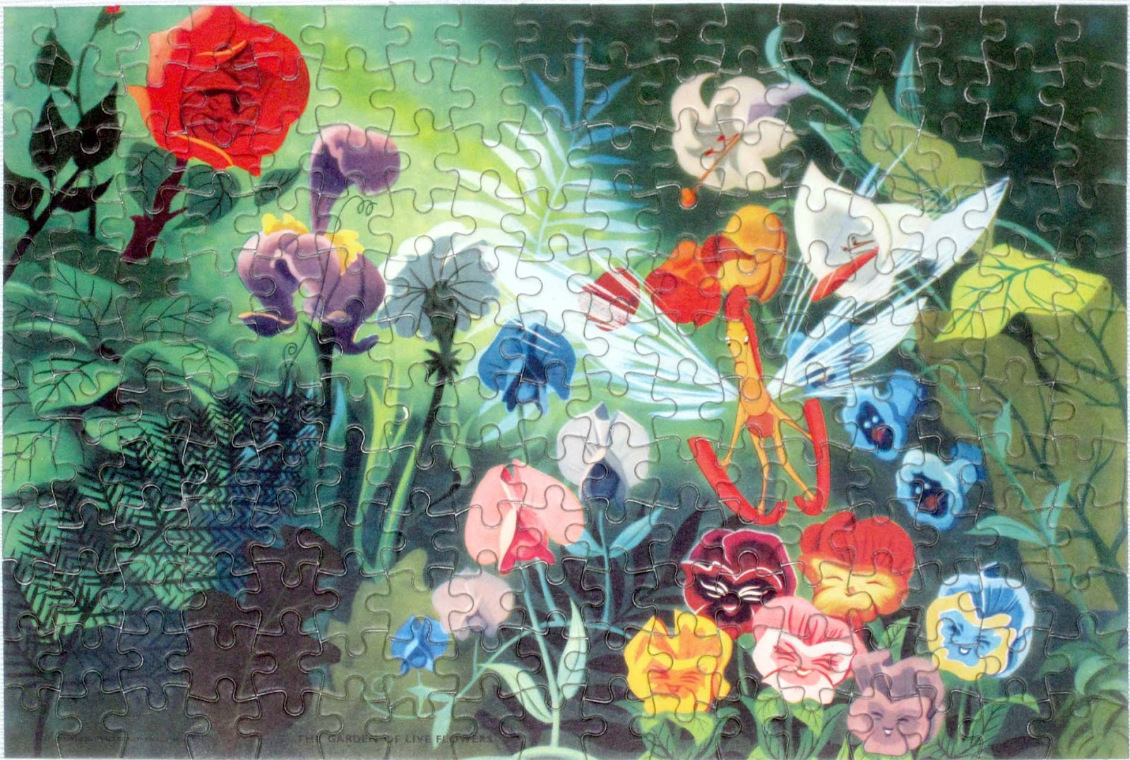 Vintage Disney Alice in Wonderland: Welcom Jigsaw Puzzle ...