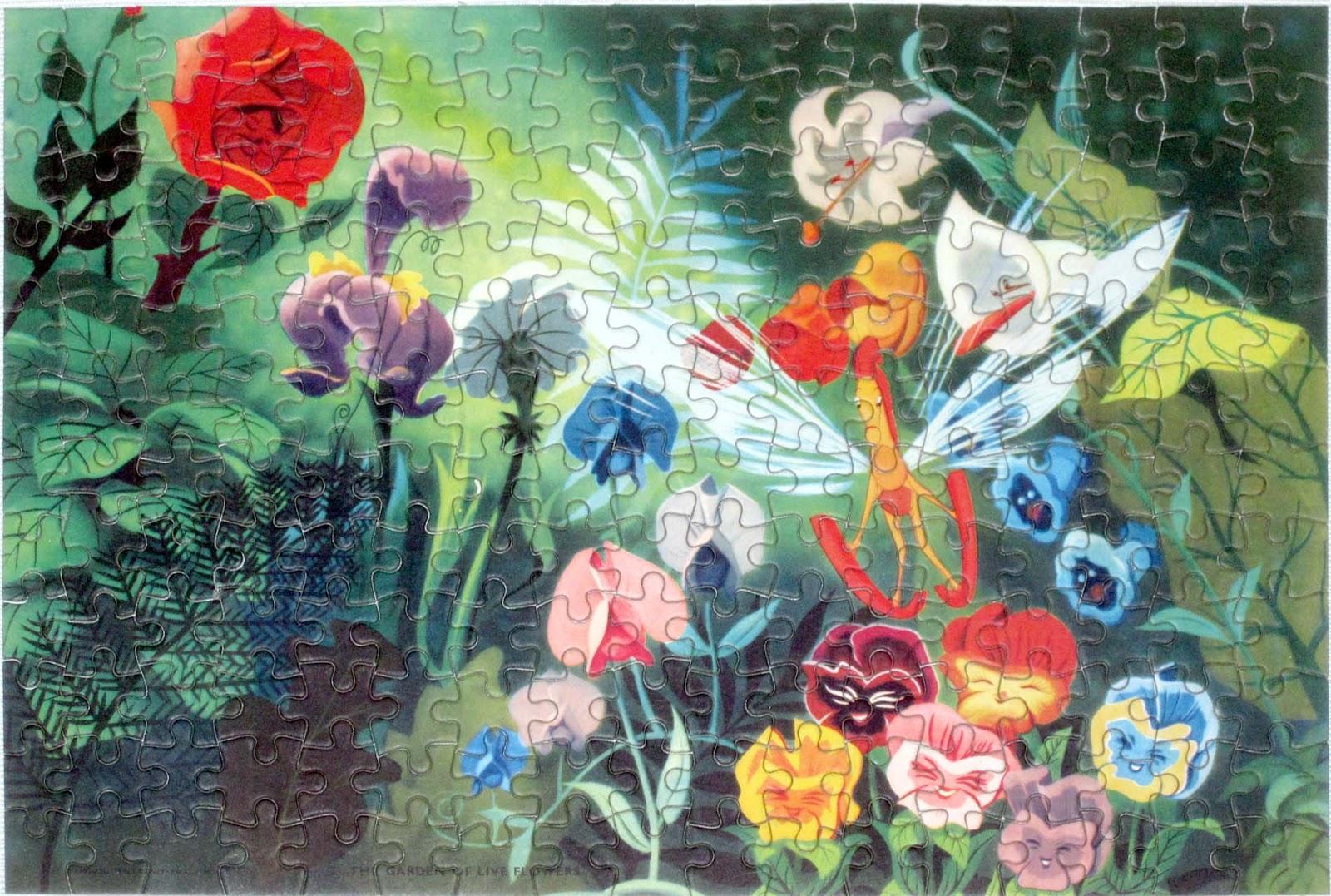 Vintage Disney Alice in Wonderland: Welcom Jigsaw Puzzle