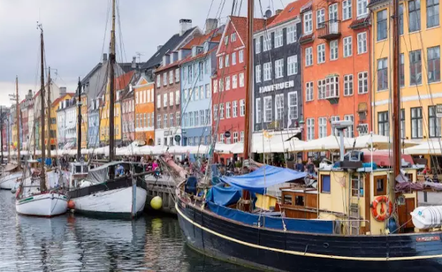 Sailing Boats At Nyhavn Denmark Top 10 World's Happiest Countries 2017