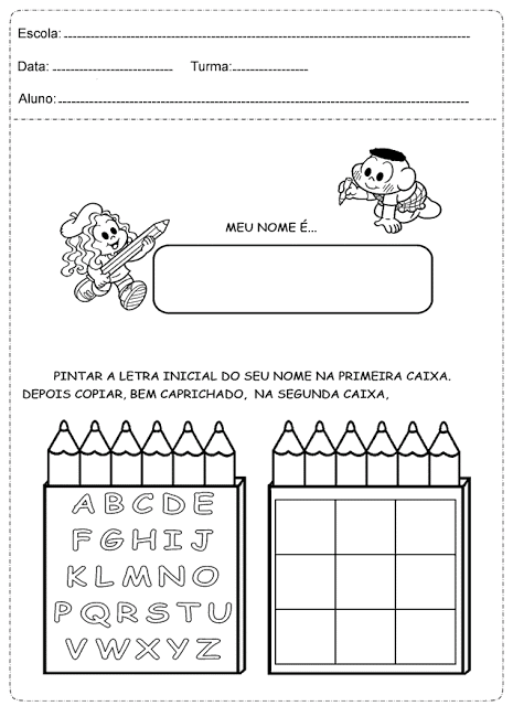 Confira nesta postagem atividades prontas para imprimir para trabalhar alfabetização com alunos do primeiro ano do Ensino Fundamental.