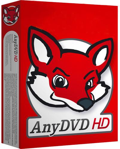 RedFox AnyDVD HD 8.1.0.0 (Español)(Reproduzca DVD sin Restricciones)