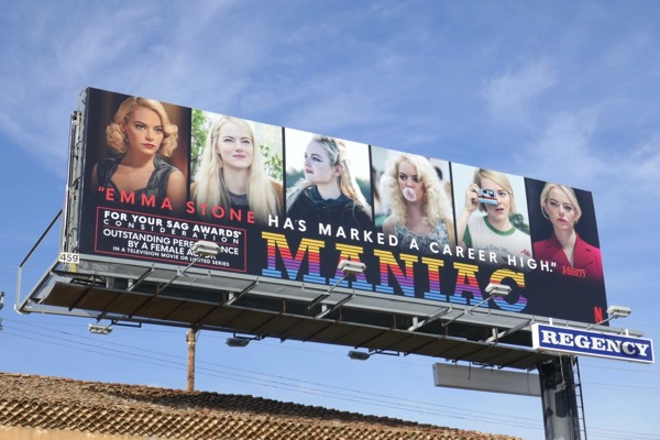 Maniac Emma Stone SAG Award nominee billboard