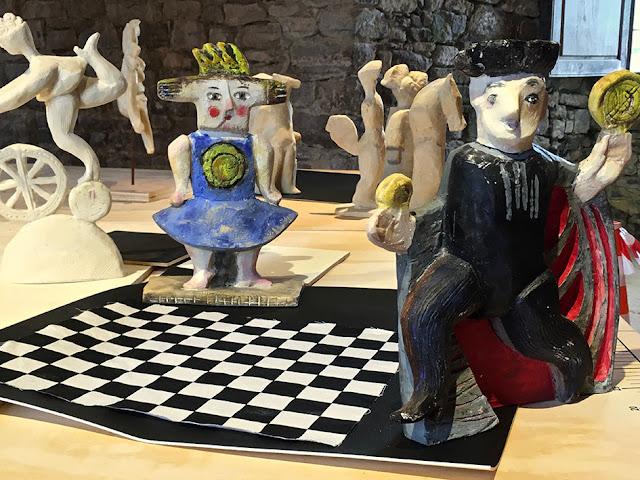 Brigitte Rio, Tarot, Arcanes, sculpture, jeu, installation artistique, brigitterio, art