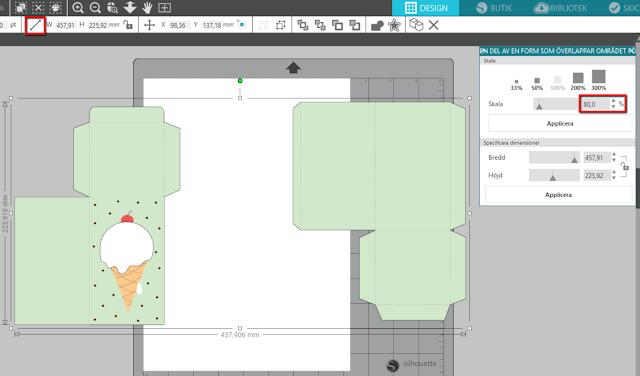 Silhouette Studio - Redigera och anpassa en 3D-modell