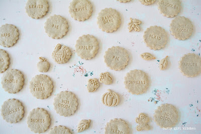 Shortbread Cookies, Pumpkin Spice Shortbread Cookies, Non-spreading Cookie Recipe, Cookie Stamps, Thanksgiving Desserts, Christmas Cookies
