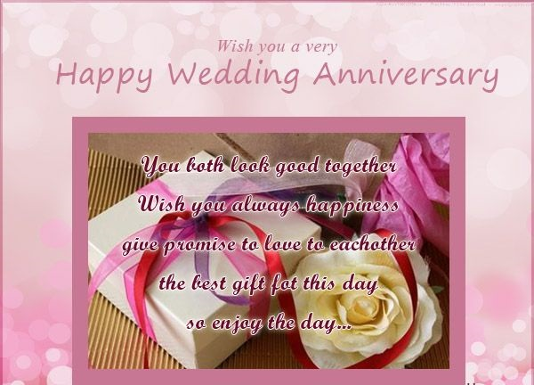 Wedding anniversary cards messages