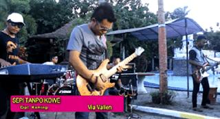 Lirik Lagu Sepi Tanpo Kowe - Via Vallen