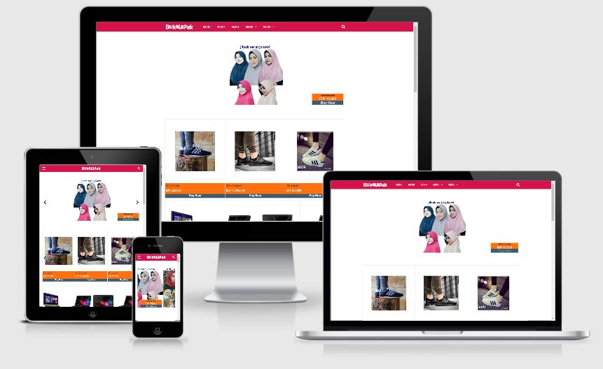 Download Template Blogger VioToko Gratis dari Mas Sugeng Kusus Blog Jualan Online
