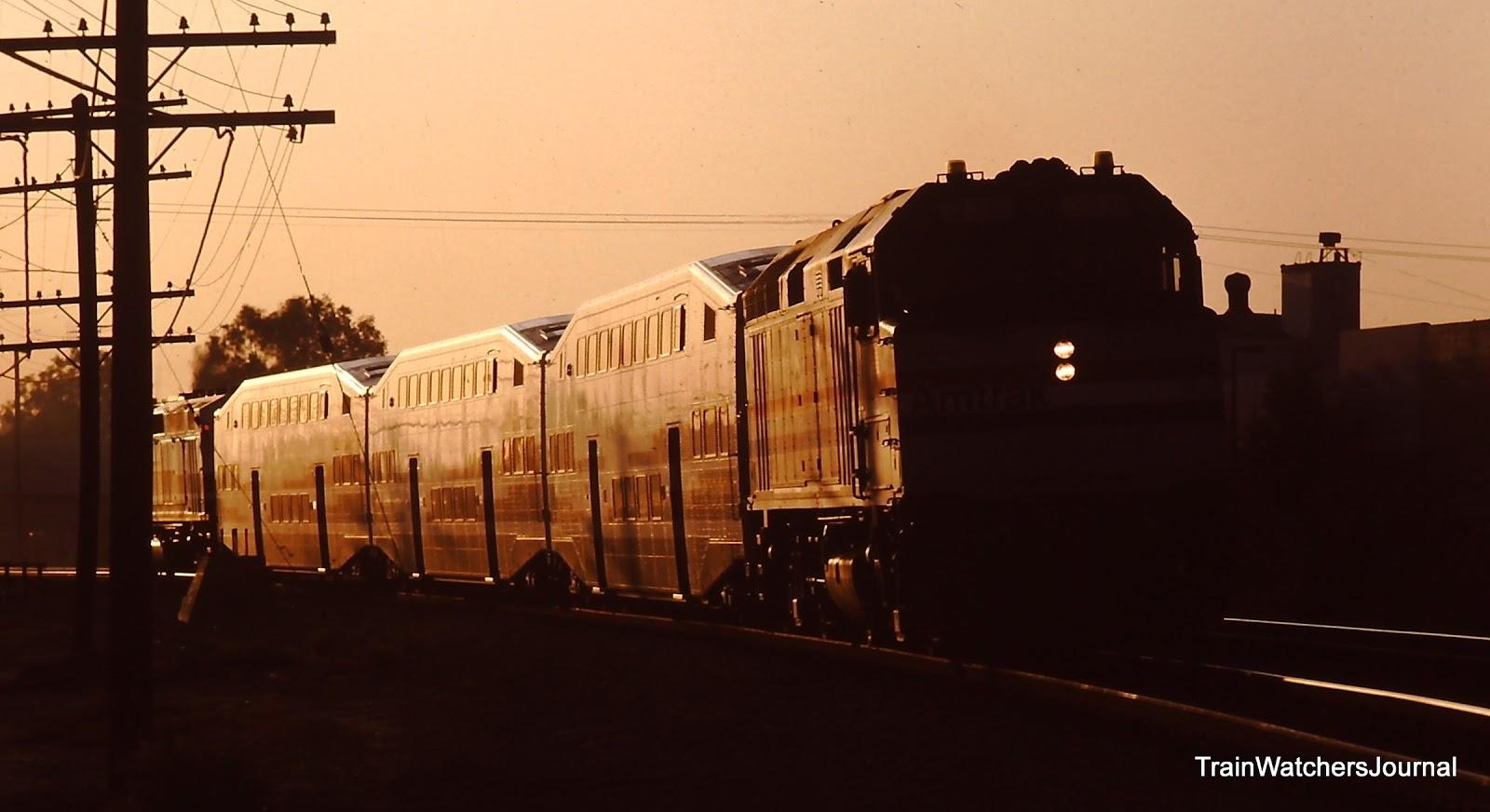 Trainwatchersjournal Paean To Periwinkle Metrolink 1992