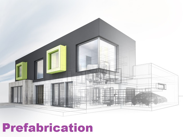 Prefabrication: Theory,Process, History, Current uses, Advantages, Disadvantages