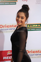Vennela in Transparent Black Skin Tight Backless Stunning Dress at Mirchi Music Awards South 2017 ~  Exclusive Celebrities Galleries 009.JPG
