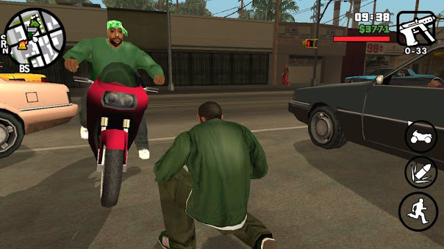 Random Vehicles for Gang Members Mod Android