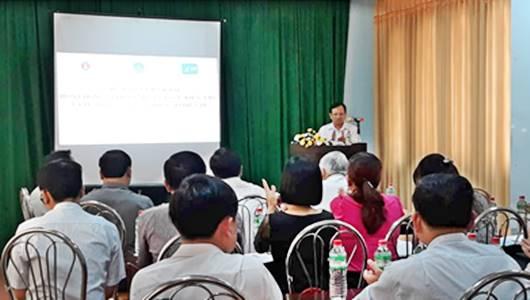Tập huấn triển khai hoạt động giám sát dựa vào sự kiện và công cụ báo cáo điện tử tỉnh Kon Tum năm 2019