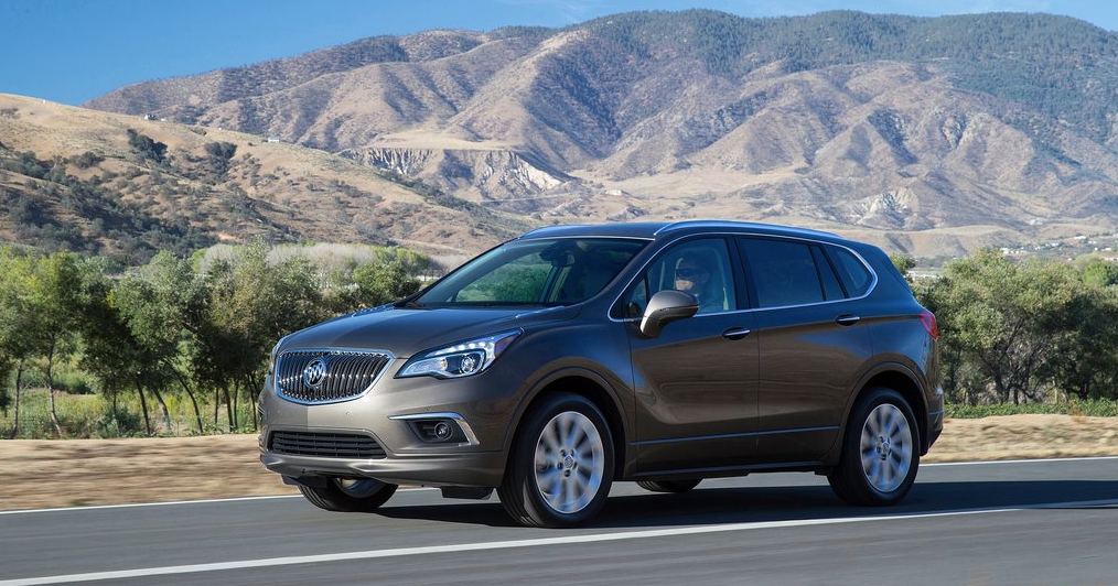 buick envision sales figures good car bad car. Black Bedroom Furniture Sets. Home Design Ideas