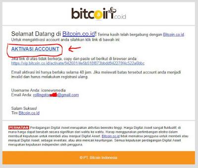 Cara membeli Bitcoin dengan Rupiah Transfer Bank di Bitcoin.co.id