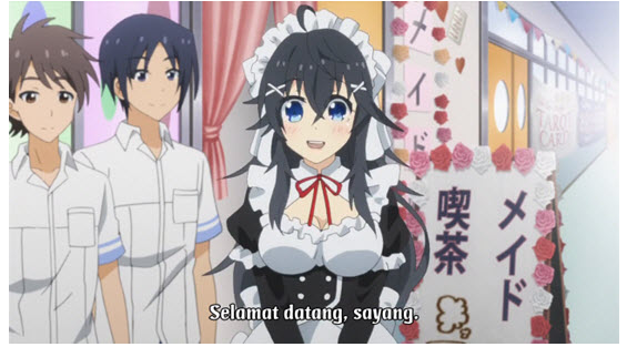 Download Anime Netoge no Yome Episode 12 [Subtitle Indonesia]