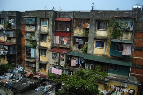 Diện tích chung cư cũ Hà Nội đền bù theo tỷ lệ tối đa là 1:1