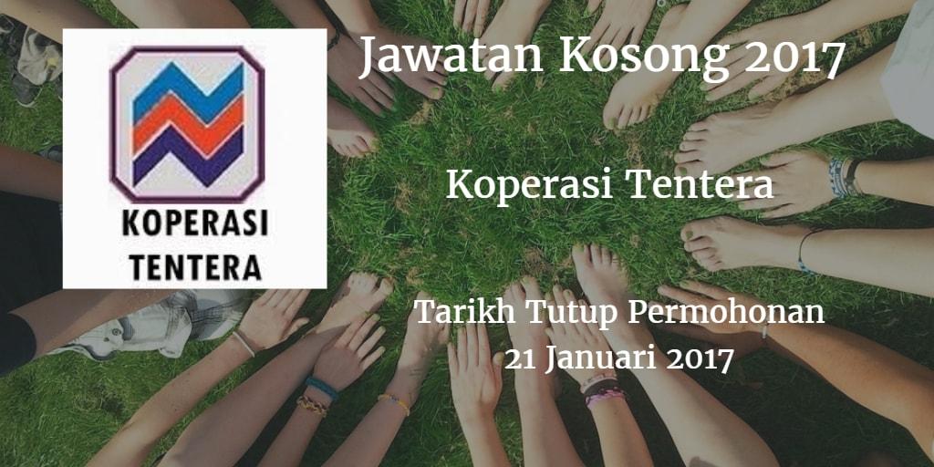 Jawatan Kosong Koperasi Tentera 21 Januari 2017