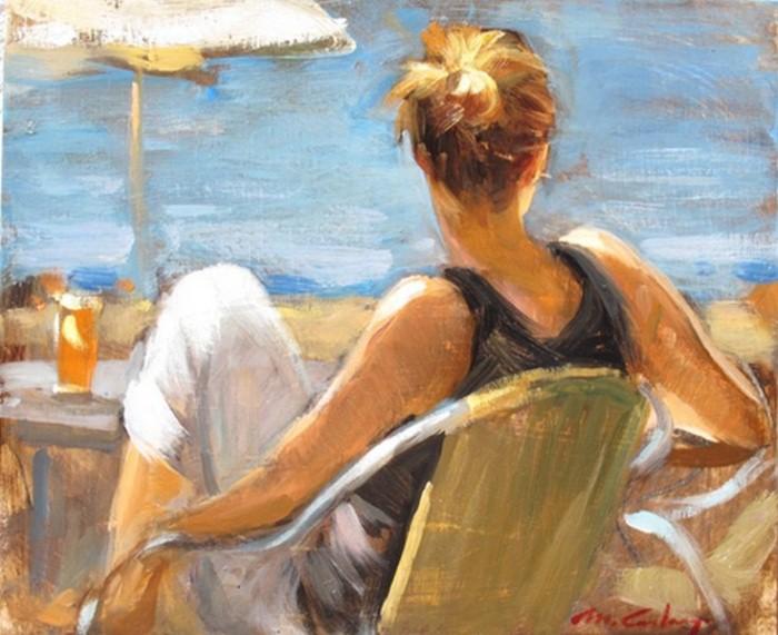 Современные художники Испании. Monica Castanys 15
