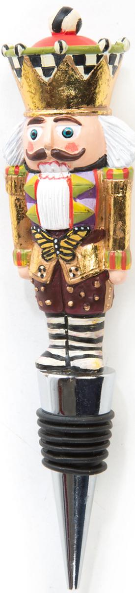 MacKenzie-Childs Santa's Workshop Bottle Stopper