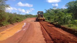Prefeitura de Picuí inicia recuperação da PB-151 entre Picuí e Nova Floresta mais uma vez