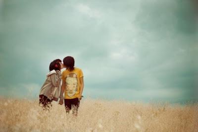 Beautiful kiss