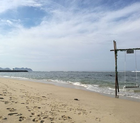 pantai lhoknga wisata aceh