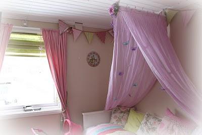 sengehimmel Min stil: Hjemmelaget sengehimmel sengehimmel