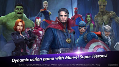 Marvel Future Fight APK MOD v2.6.1 Terbaru