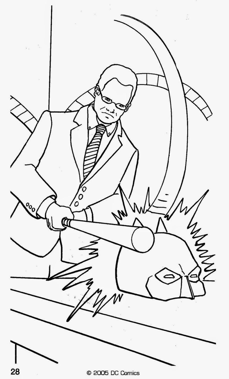 batman begins coloring pages - photo#10