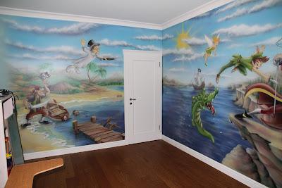 Malarstwo ścienne, malowanie farbami akrylowymi, mural 3D, malowidła ścienne malowane na zamówienie