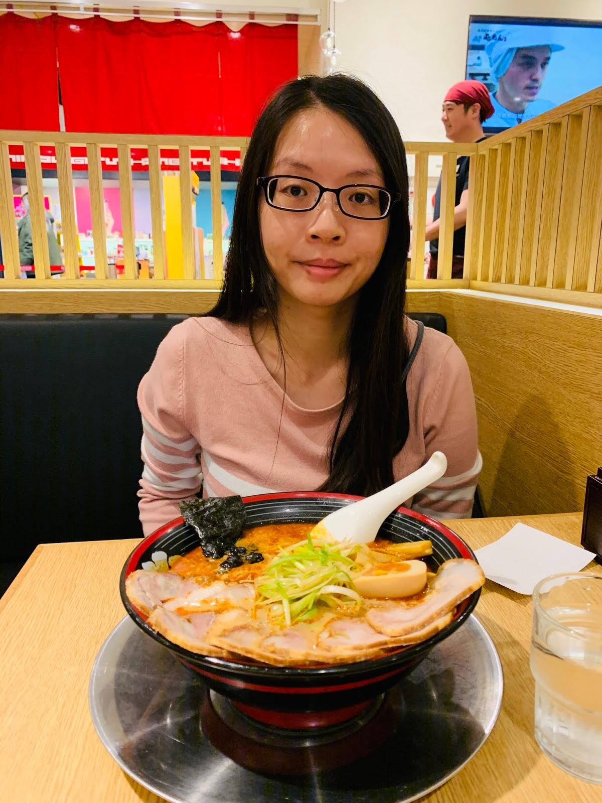 屯京拉麵-麻辣叉燒拉麵