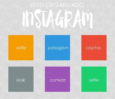 Resultado de imagem para feed organizado