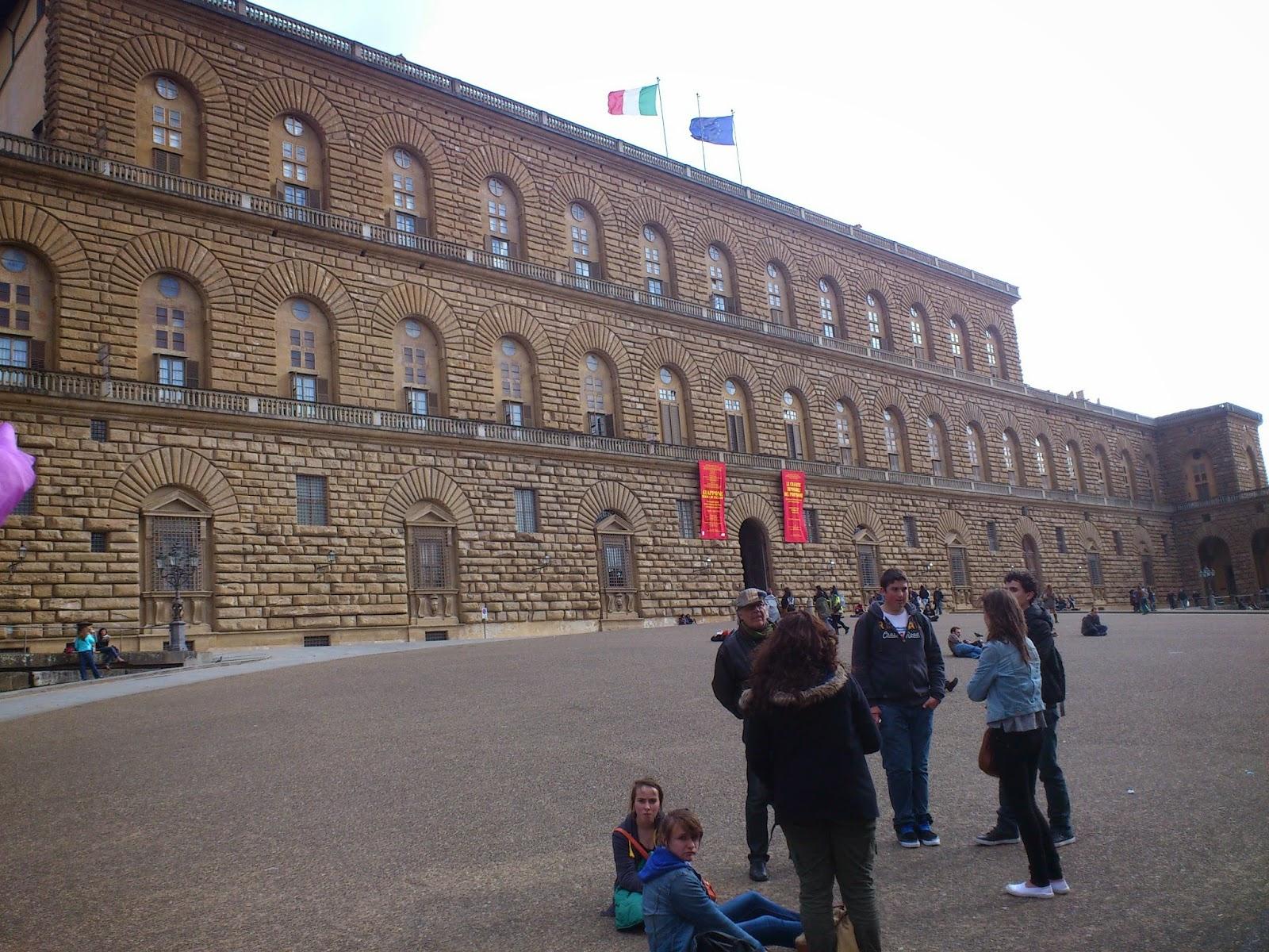 Palácio Pitti - Florença - Itália